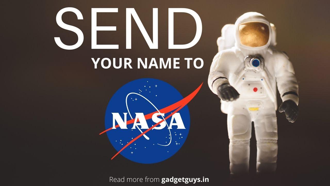 sens your name to nasa