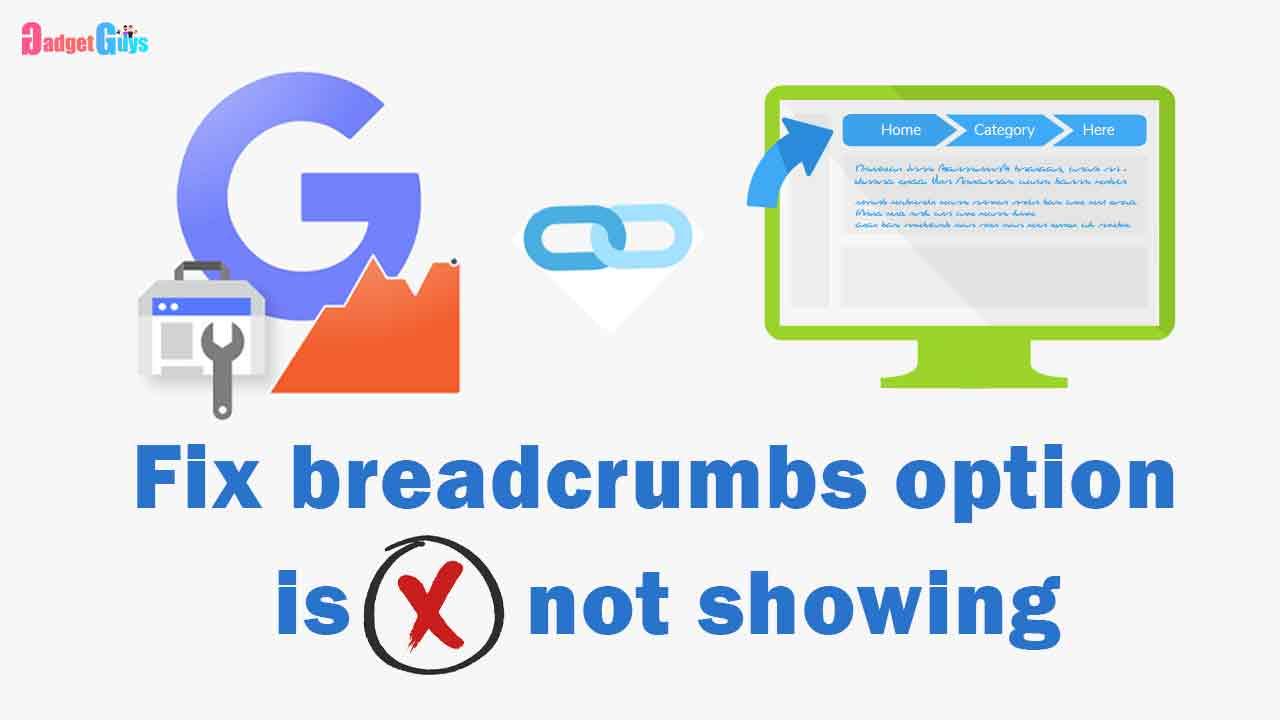 fix breadcrumb is not showing